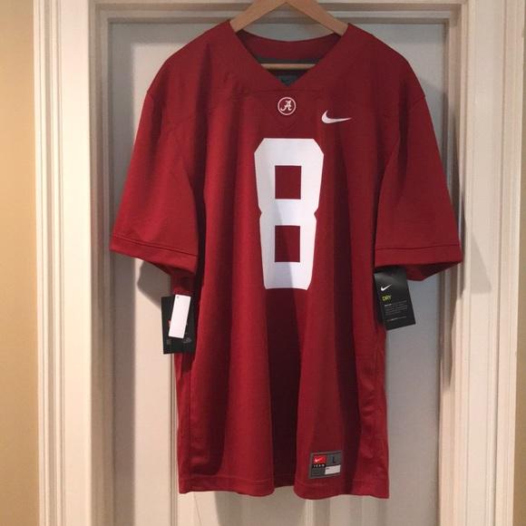 new style 66f33 53217 Nike Alabama Julio Jones authentic Jersey NWT NWT